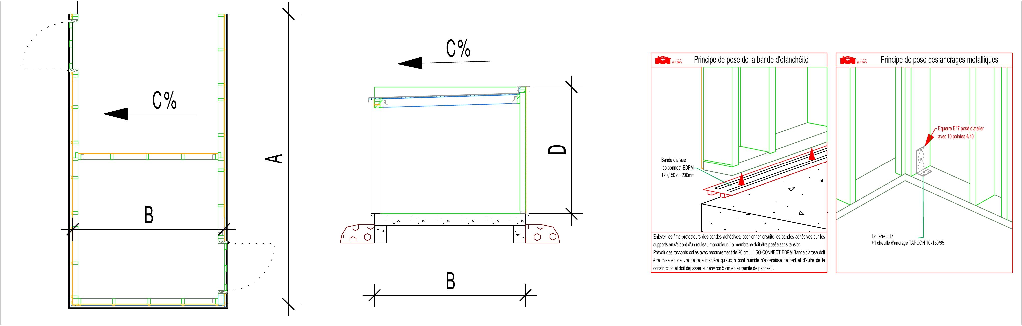 G nial plan abris de jardin ossature bois l 39 id e d 39 un - Plan abri de jardin pdf ...