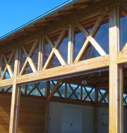 Réalisations de charpentes en bois et constructions en bois - Martin Charpentes