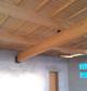 Entreprise construction bois & charpente bois : préau d'une école à Montfaucon, Doubs - Martin charpentes