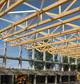Entreprise construction charpente traditionnelle dans l'Est de la France – salle multi-activités - Martin charpentes