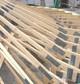 Entreprise construction au Luxembourg : charpente en bois pour esplanade - Martin charpentes