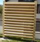 Entreprise construction structure bois extérieur dans l'Est de la France : pare-vue en bois - Martin charpentes