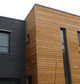 Construction maison ossature bois : maison de ville individuelle, Terville, Marne - Martin charpentes