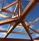 Entreprise construction de charpente fermette en Lorraine: charpente en étoile – Martin Charpentes