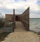 Entreprise construction  en bois : observatoire ornithologique de la pointe aux chênes, Meuse - Martin charpentes