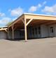 Entreprise construction charpente traditionnelle en Lorraine : préau de l'école de Stuckange – martin charpentes