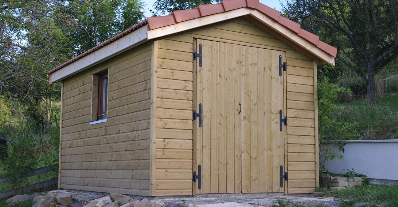 Plan cabane jardin ossature bois strasbourg maison - Plan abri de jardin en ossature bois ...