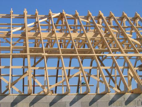 Principe constructif - charpentes industrielles