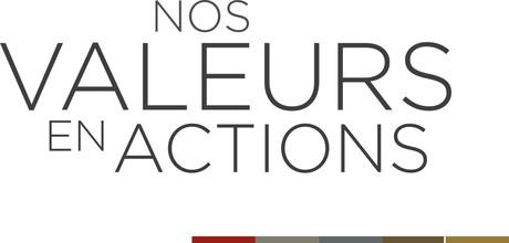 Nos valeurs en action