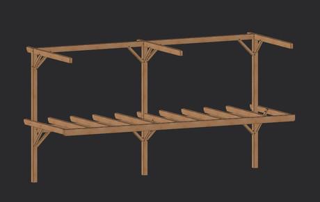 TERRASSE sur structure bois