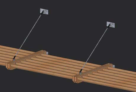 Claustra bois construction panneau claustra bois for Brise soleil bois exterieur