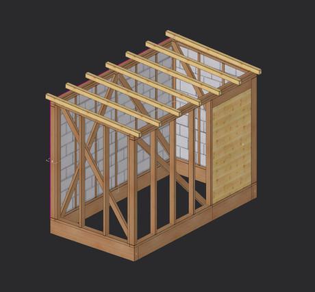 Abri de jardin - abri jardin bois – bardage bois - Martin charpentes
