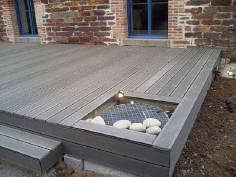 Terrasse bois composite – terrasse exterieure - martin charpentes