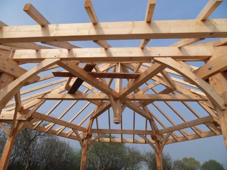 structure bois bardage terrasse bois pergola martin charpentes. Black Bedroom Furniture Sets. Home Design Ideas