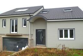 Entreprise construction bois : maison individuelle à ossature bois, Meurthe et Moselle – Martin charpentes