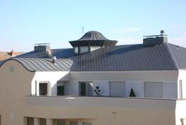 Entreprise construction charpentes industrielles : immeubles au Luxembourg  – Martin charpentes
