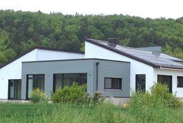 Entreprise construction maison bois: maison contemporaine, meuse - Martin charpentes