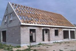 Entreprise construction maison bois en Lorraine : charpente fermette en combles aménageables - Martin charpentes