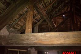 Entreprise construction charpente bois en Lorraine : charpente traditionnelle à Charleville sous-bois - martin charpentes