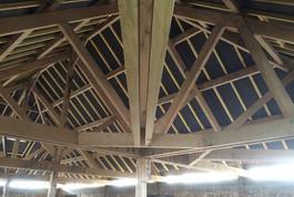 Entreprise construction charpente bois Est de la France : charpente traditionnelle ancien presbytère de Gemmelaincourt – martin charpentes