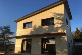 Entreprise construction maison en bois : maison structure bois, maison individuelle à Liverdun – Martin charpentes