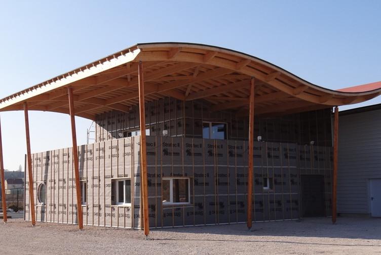 Bureau ossature bois en kit: construction ossature bois ib