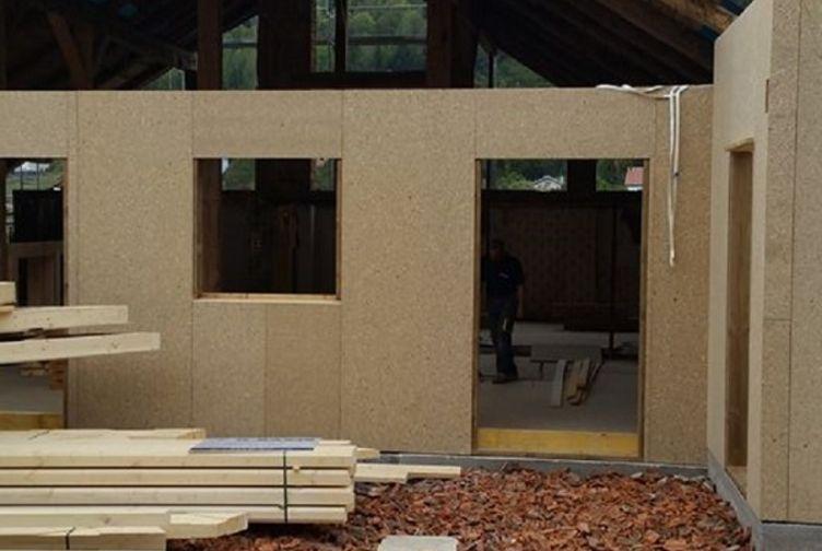 Entreprise construction maison ossature bois : rénovation d'une ferme dans les Vosges - Martin charpentes