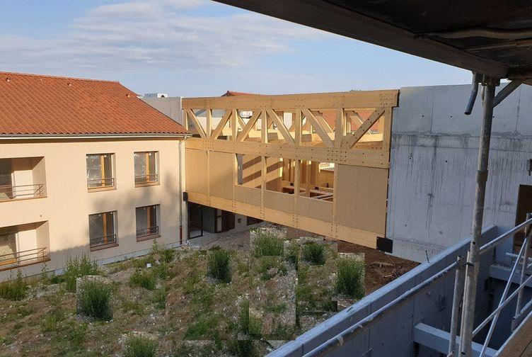 Passerelle logements séniors à Morance