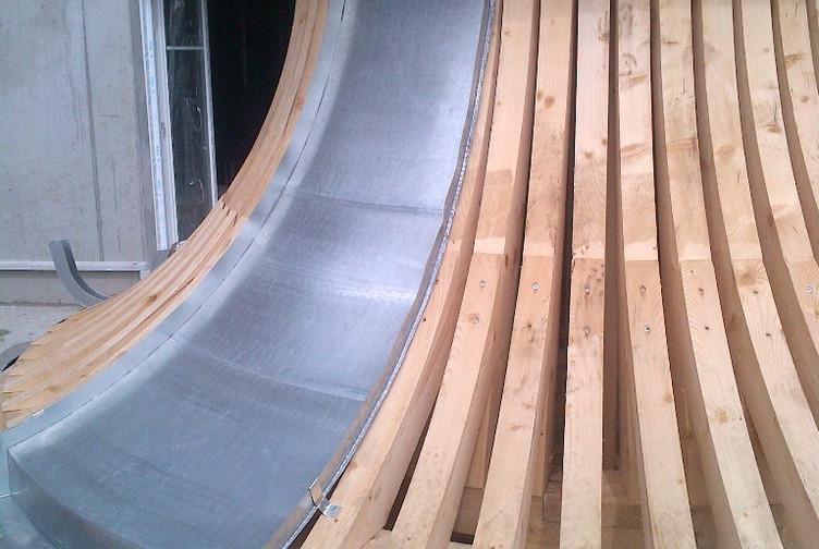 Charpente bois construction coupole ile de france martin charpentes for Construction bois zinc
