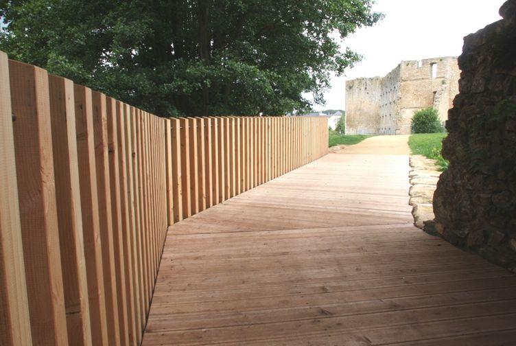 Terrasse bois, Passerelle en bois, , LUXEMBOURG - 1_2 - Martin Charpentes