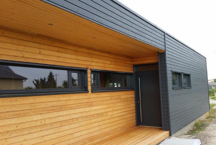 Entreprise construction maison bois : maison à structure bois, maison individuelle, Etain - Martin charpentes