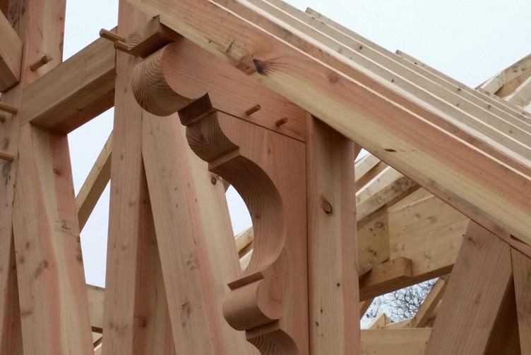 Entreprise construction charpentes bois Est de la France : charpente traditionnelle à Vittel – martin charpentes