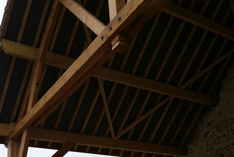 Entreprise construction bois en Lorraine : renovation d'une charpente traditionnelle - martin charpentes