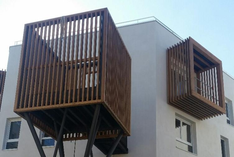 balcon en arbre