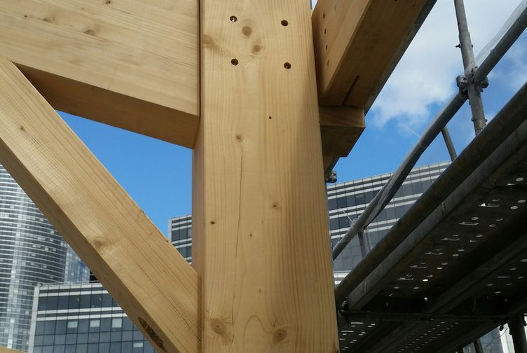 Entreprise de construction Grand Est : extension en ossature bois d'une école, Ile de France 5 – Martin charpentes