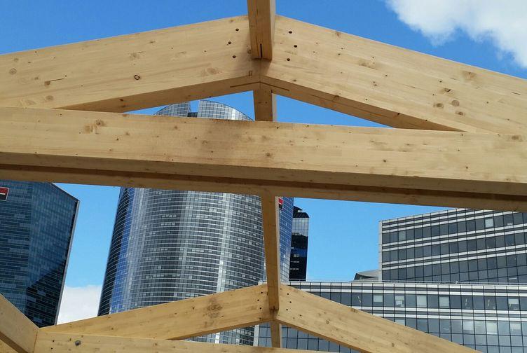 Entreprise de construction Grand Est : extension en ossature bois d'une école, Ile de France 6 – Martin charpentes