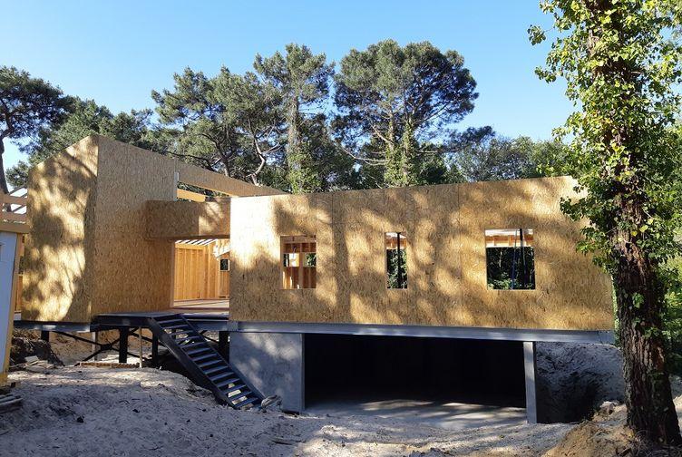 Maison individuelle, Maison bois en bord de plage, Pas de Calais, LE TOUQUET PARIS PLAGE - 20200602_093413 - Martin Charpentes