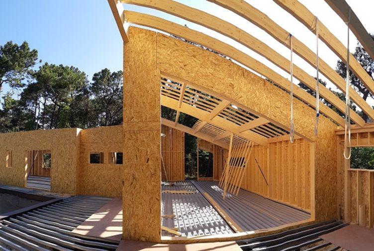 Maison individuelle, Maison bois en bord de plage, Pas de Calais, LE TOUQUET PARIS PLAGE - 20200602_093627 - Martin Charpentes