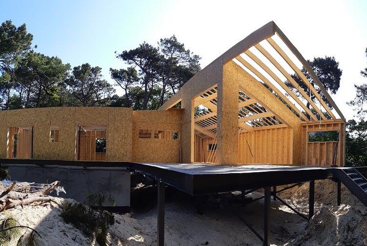Maison individuelle, Maison bois en bord de plage, Pas de Calais, LE TOUQUET PARIS PLAGE - 20200602_093902 - Martin Charpentes