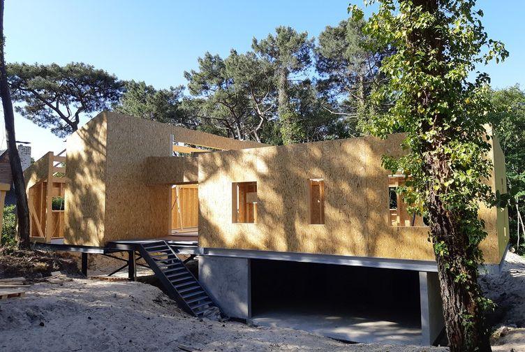 Maison individuelle, Maison bois en bord de plage, Pas de Calais, LE TOUQUET PARIS PLAGE - 20200602_094400 - Martin Charpentes