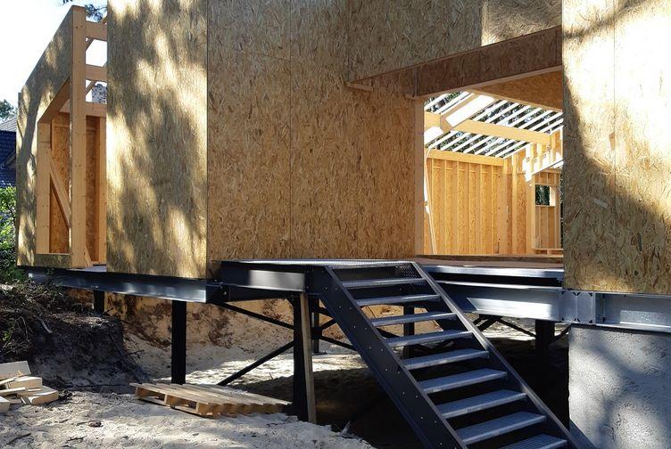 Maison individuelle, Maison bois en bord de plage, Pas de Calais, LE TOUQUET PARIS PLAGE - 20200602_094602 - Martin Charpentes