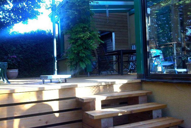 Terrasse bois, Terrasse en platelage bois, Meurthe et Moselle,  - 2_1 - Martin Charpentes