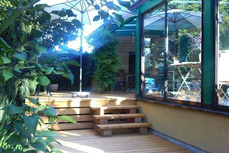 Terrasse bois, Terrasse en platelage bois, Meurthe et Moselle,  - 3_1 - Martin Charpentes