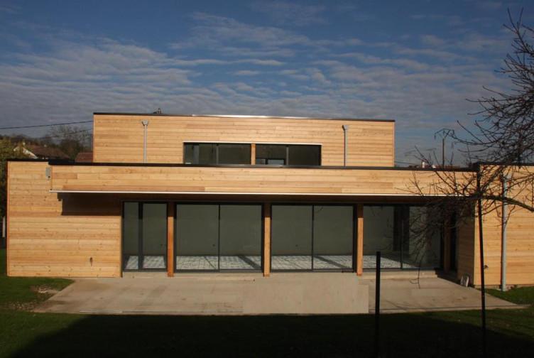 Maison bois contemporaine – Meurthe et Moselle – Martin charpentes