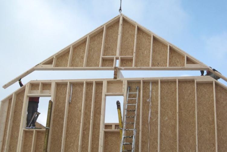 Maison ossature bois construction bois luxembourg for Entreprise construction maison bois