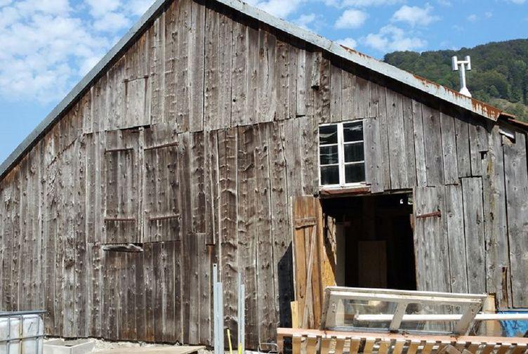 Renovation ferme ferme ossature bois la bresse for Entreprise construction maison