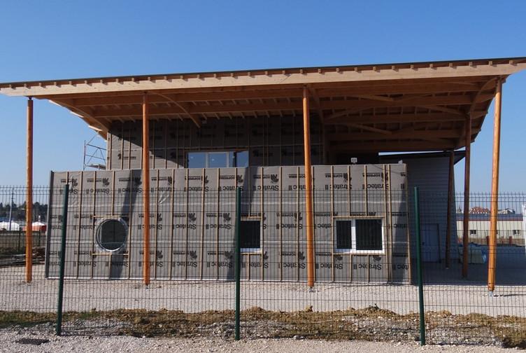 Entreprise de construction bois : bureaux en ossature bois, Haute Saône - Martin charpentes