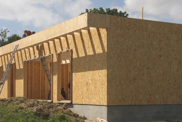 Entreprise construction bois Est de la France : maison contemporaine, marne - Martin charpentes