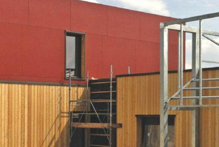 Entreprise construction bois Grand Est : résidence Emilie du Châtelet – Martin charpentes