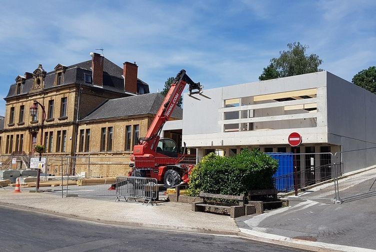 Extension Mairie Vivier au court